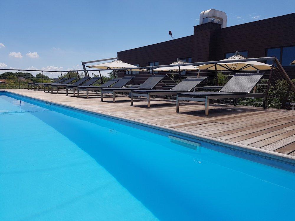 Piscina Esterna Base Hotel